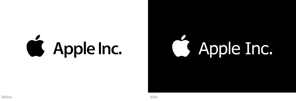 official apple logo. following ikea\u0027s lead, apple inc. has changed its corporate typeface to verdana. official logo