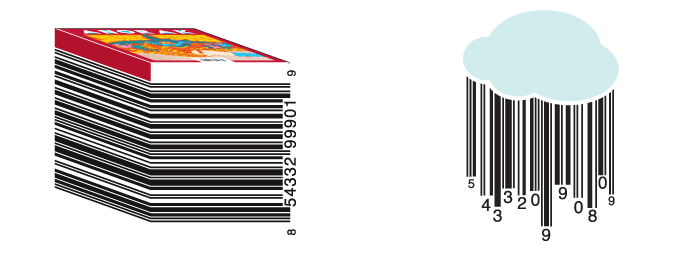 Custom barcodes from vanitybarcodes.com