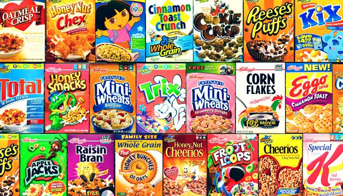 Cereal Boxes Pictures