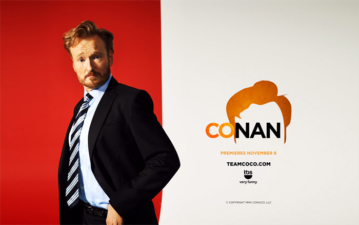Logo variation for light backgrounds, seen in this desktop wallpaper from TeamCoco.com