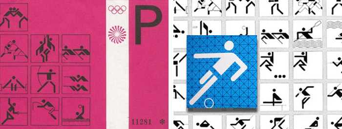 Iconography for the 1972 Munich Olympics by Otl Aicher