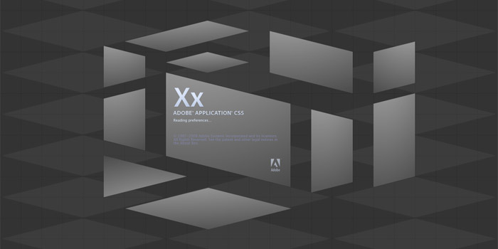 A set of building blocks designed for CS5's new splash screens