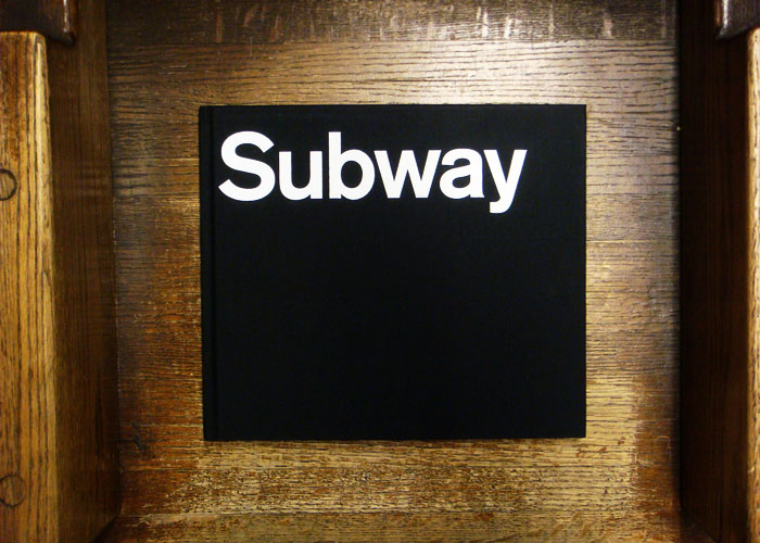 Shaw's book, photographed on a bench inside the New York City subway (Photo: nicksherman, Flickr)