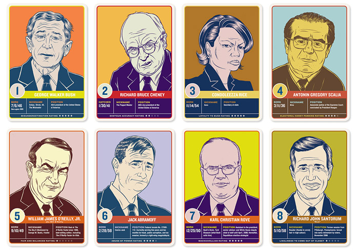 'Name that Republican' card game, 2007