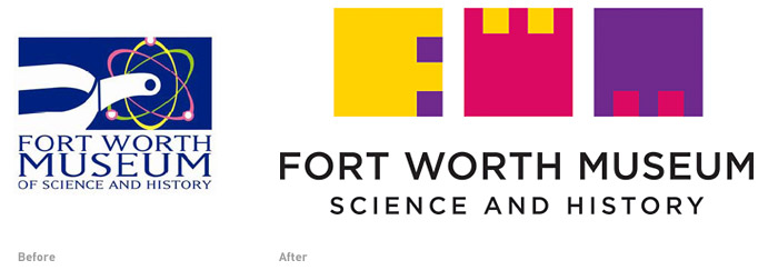 Forth Worth Museum new logo
