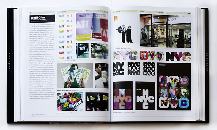 Graphic Design Referenced spread, photo by idsgn