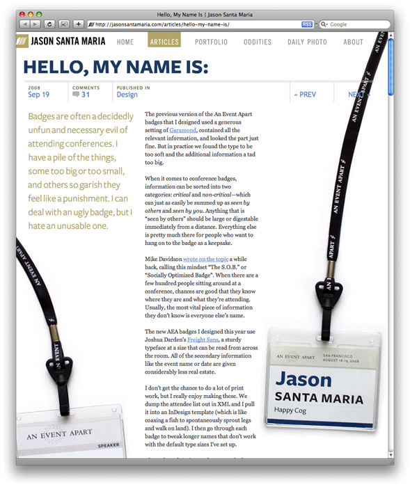 Jason Santa Maria's website