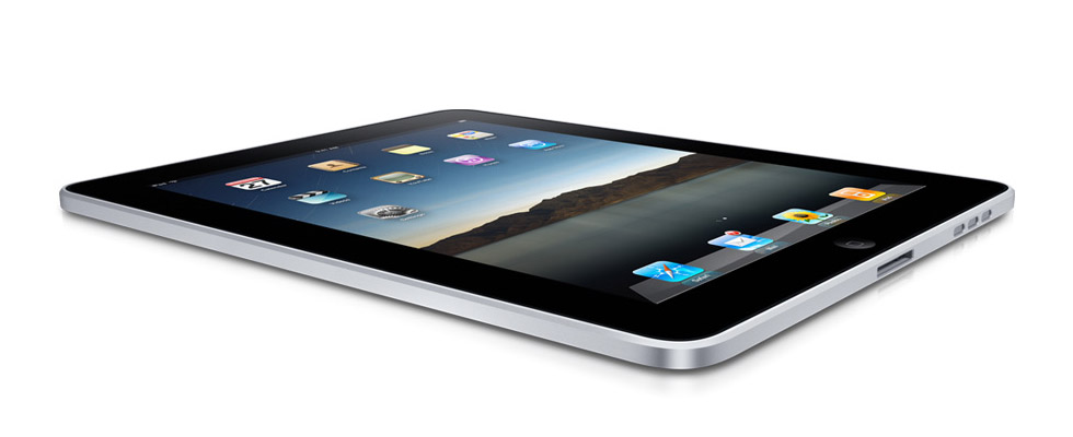 Apple iPad (Source: Apple)