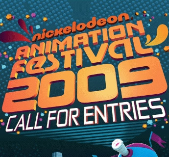 Nickelodeon's new logo, as seen in material for NAF 2009