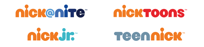 The new identities of Nickelodeon's sister networks