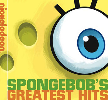 Nickelodeon's new logo, as seen on this Sponge Bob CD