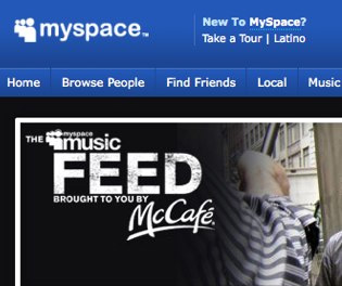 MySpace.com, after