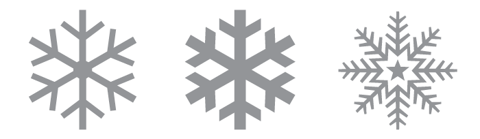 No Two Snowflakes Alike Idsgn A Design Blog