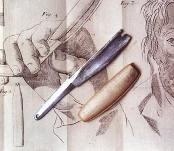 Model of Perret's guard razor (Source: razorandbrush.com)