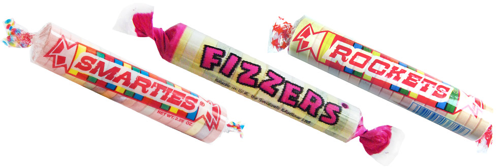 Smarties, Fizzers, and Rockets