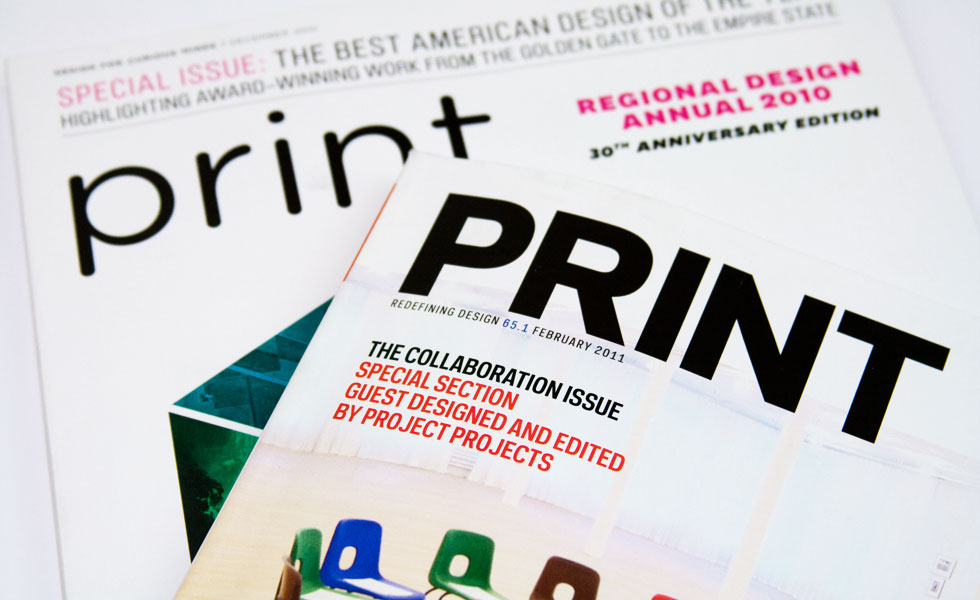 Before and after: The new Print magazine