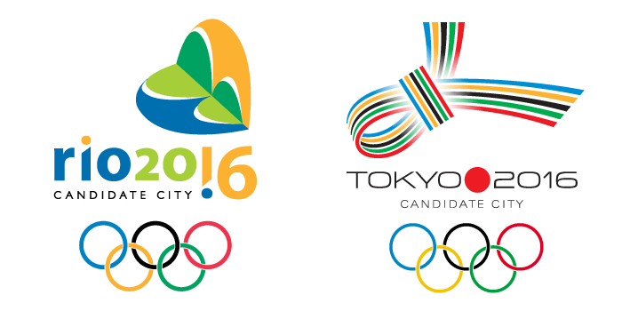 Логотипы олимпиады 2016.