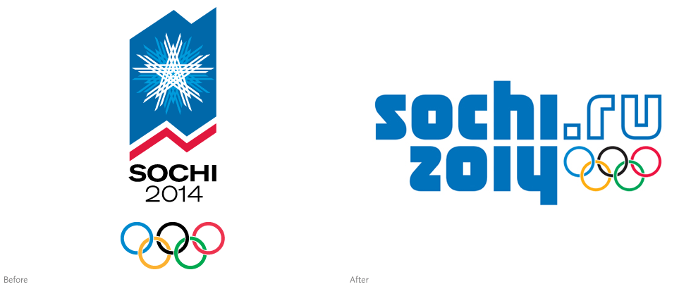 —but today the official Sochi 2014 logo was unveiled in Russia
