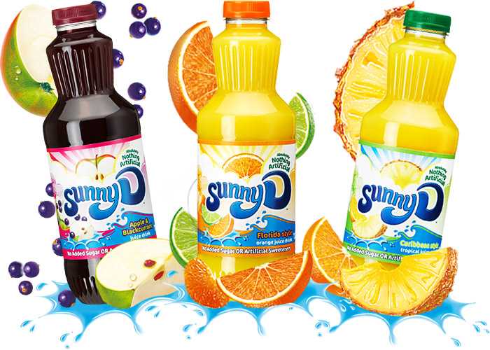 Sunny D packaging