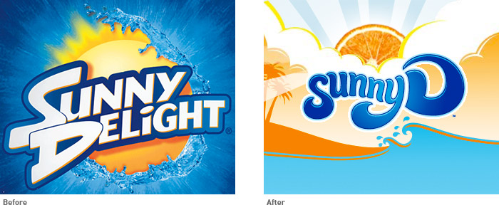 The new Sunny D is an entirely new drink, which now contains 70% fruit juice