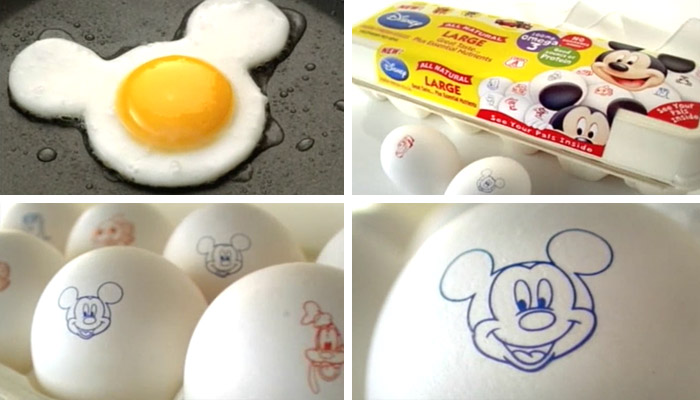 "Disney-branded ""Farm Fresh Eggs"""