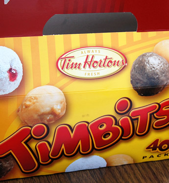 A box of Timbits. Photo by mhaithaca, on Flickr.