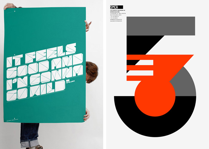 Typo/graphic Posters: idsgn (a design blog)