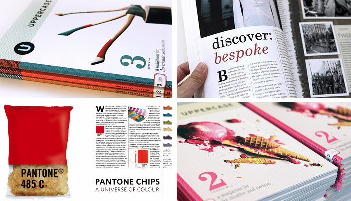 Images from Uppercase Magazine Issue 2 & 3 (Photos: Uppercase, Flickr)